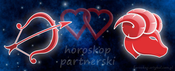 horoskop partnerski Strzelec Baran