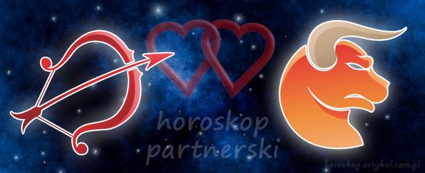 horoskop partnerski Strzelec Byk