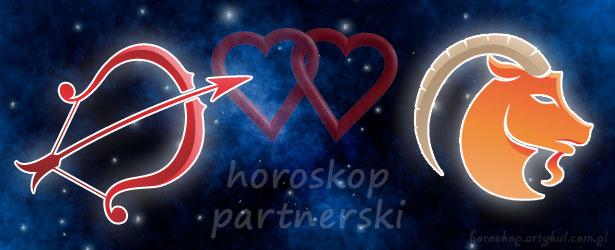 horoskop partnerski Strzelec Koziorożec