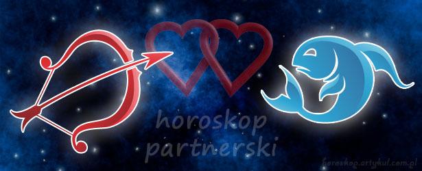 horoskop partnerski Strzelec Ryby