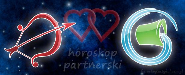 horoskop partnerski Strzelec Wodnik