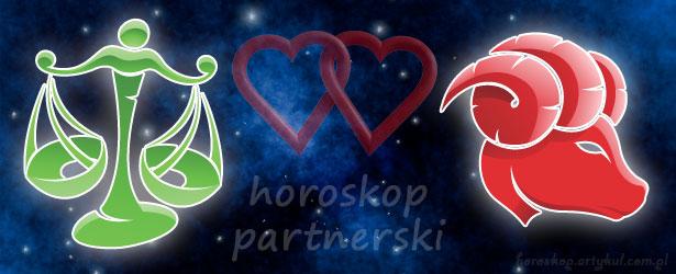 horoskop partnerski Waga Baran