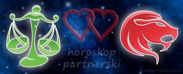 horoskop partnerski Waga Lew