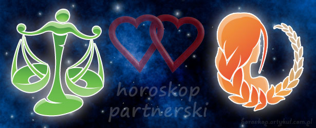 horoskop partnerski Waga Panna