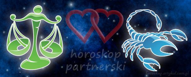horoskop partnerski Waga Skorpion