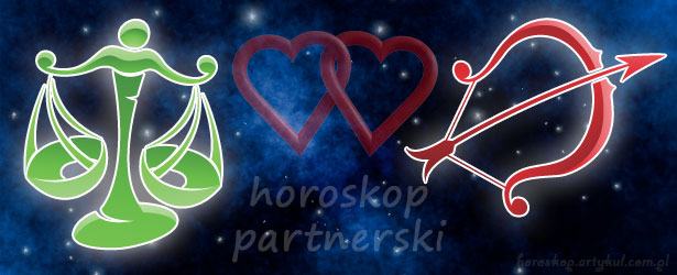 horoskop partnerski Waga Strzelec
