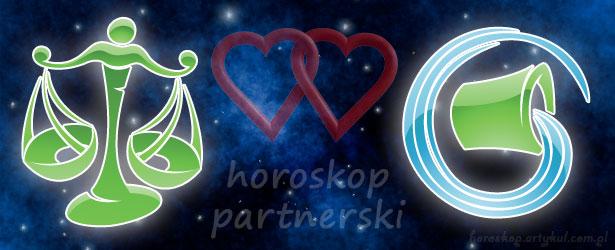 horoskop partnerski Waga Wodnik