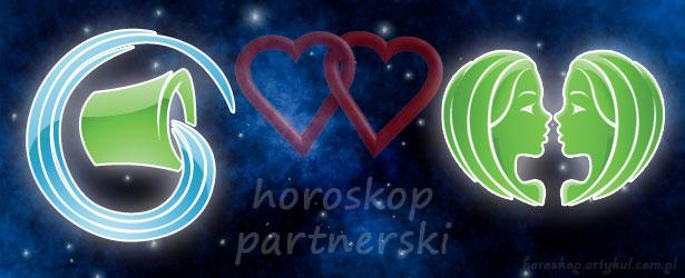 horoskop partnerski Wodnik Bliźnięta