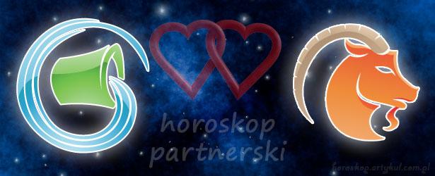 horoskop partnerski Wodnik Koziorożec