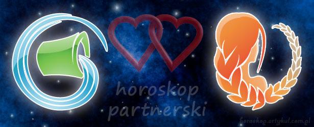 horoskop partnerski Wodnik Panna