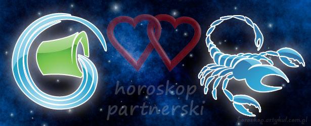 horoskop partnerski Wodnik Skorpion