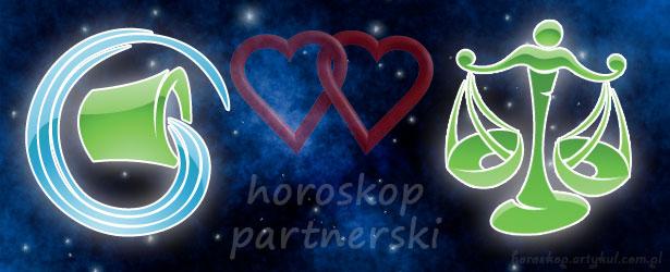 horoskop partnerski Wodnik Waga