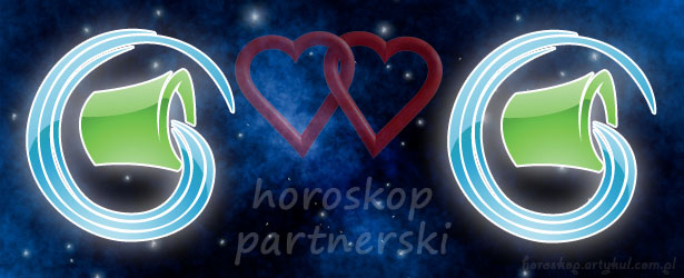horoskop partnerski Wodnik Wodnik