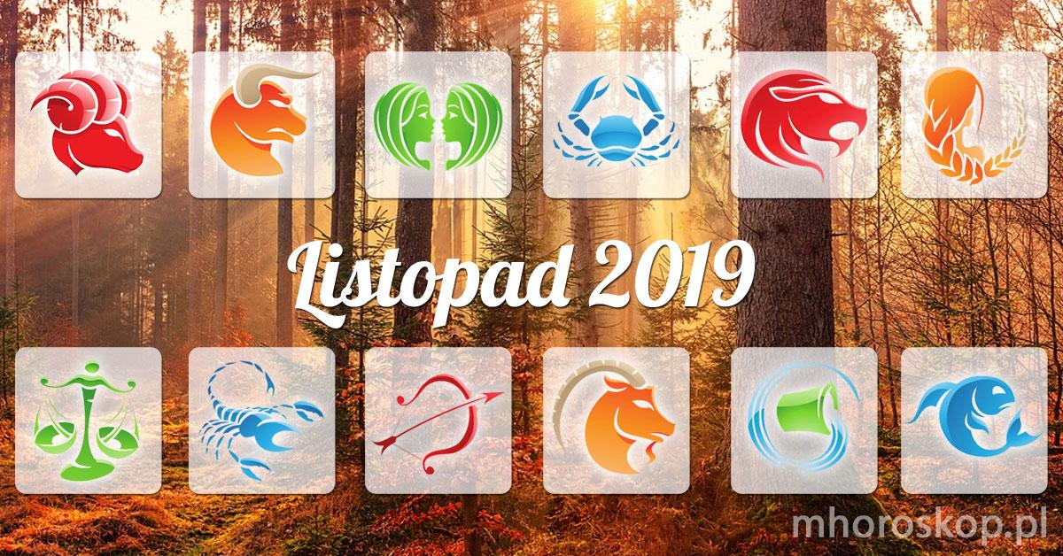 Listopad 2019 horoskop