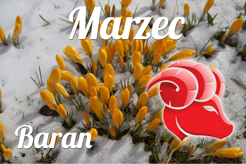 Baran horoskop Marzec