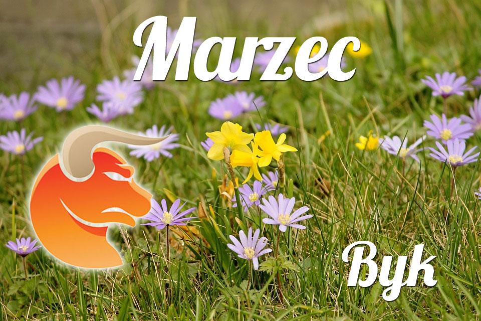 Byk horoskop Marzec