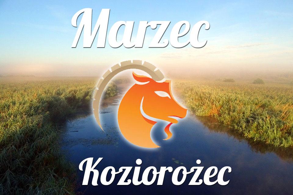 Koziorożec horoskop Marzec