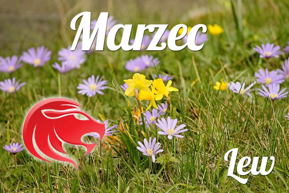 Lew horoskop Marzec
