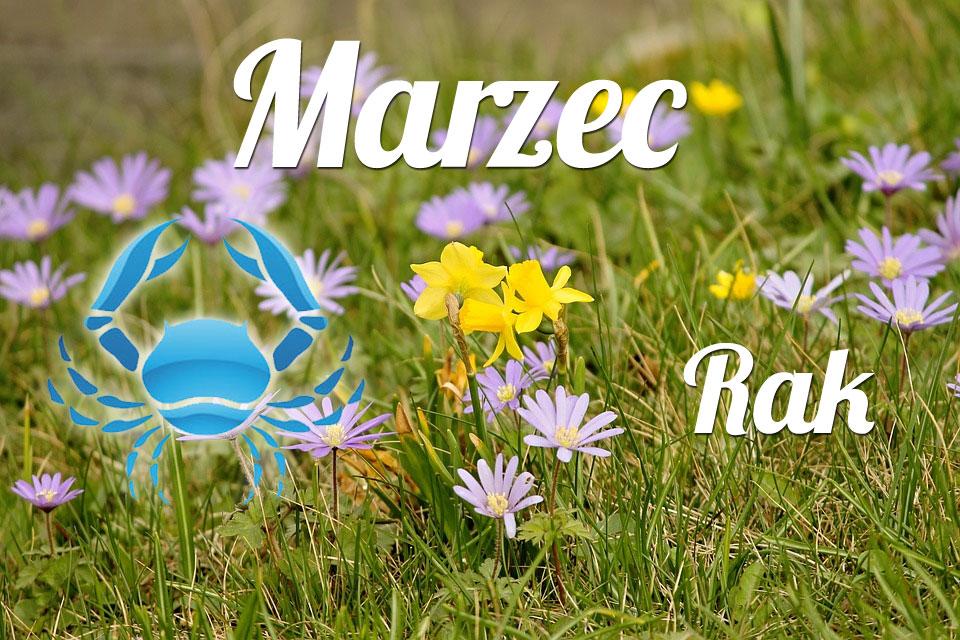 Rak horoskop Marzec