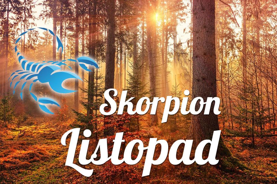 Skorpion horoskop Listopad