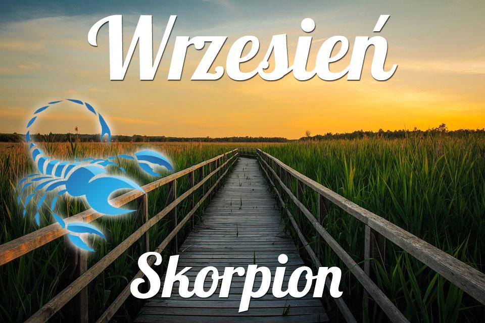 Skorpion horoskop Wrzesień