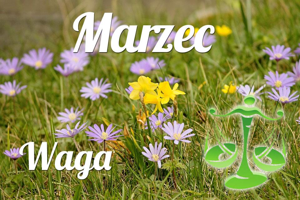 Waga horoskop Marzec