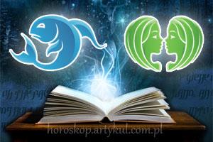 Ryby + Bliźnięta - horoskop partnerski