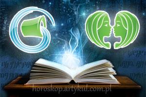 Wodnik + Bliźnięta - horoskop partnerski