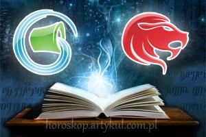 Wodnik + Lew - horoskop partnerski