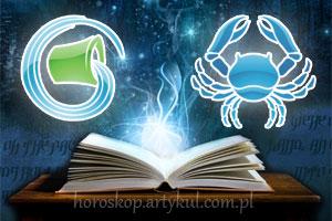 Wodnik + Rak - horoskop partnerski