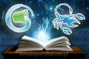 Wodnik + Skorpion - horoskop partnerski