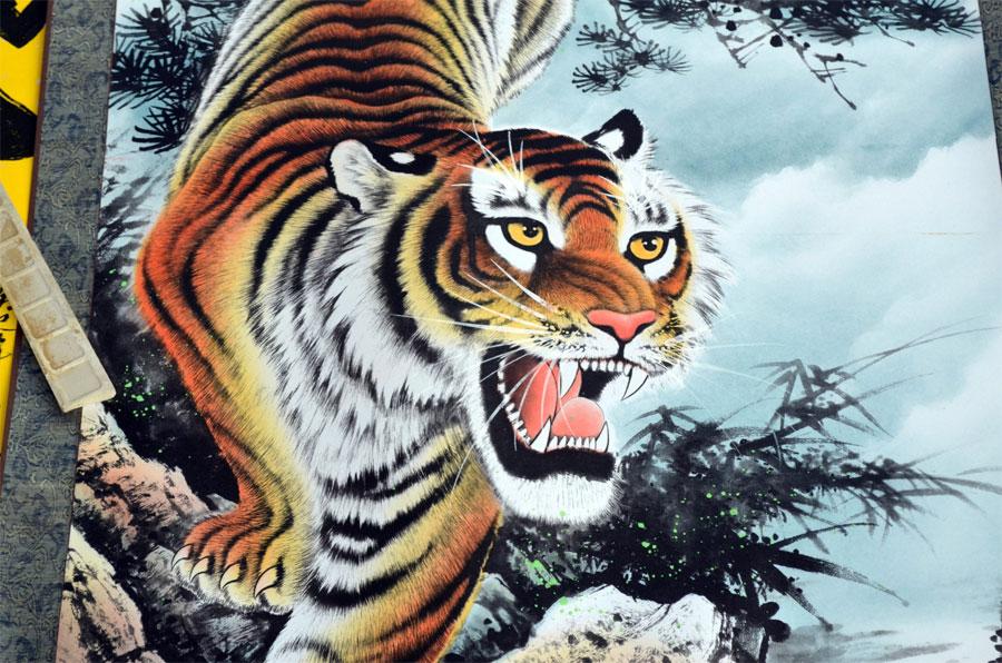 Tygrys - sprawy zawodowe