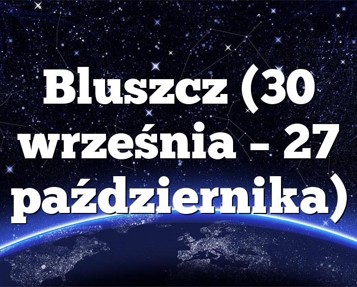 Bluszcz (30 września – 27 października)