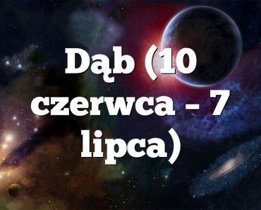 Dąb (10 czerwca – 7 lipca)