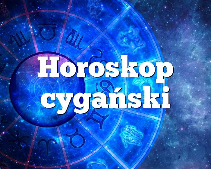 Horoskop cygański