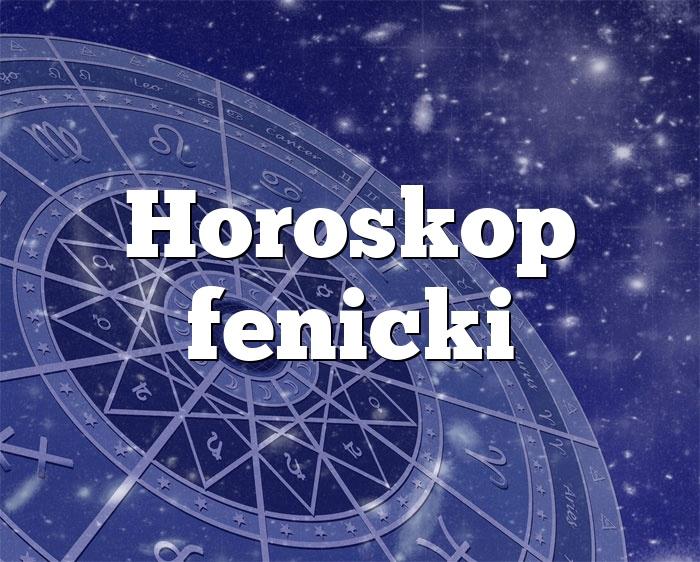 Horoskop fenicki