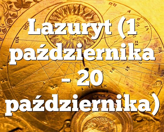 Lazuryt (1 października – 20 października)