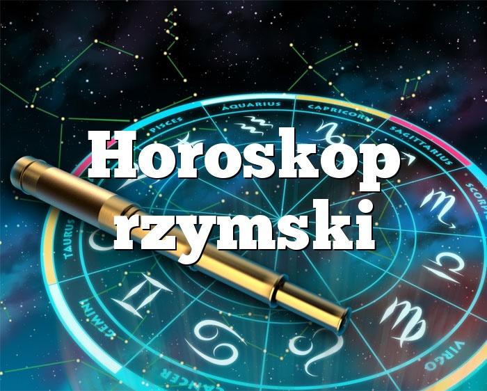 Horoskop rzymski