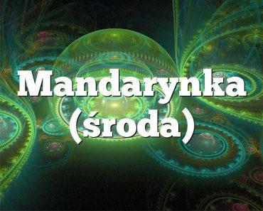 Mandarynka (środa)