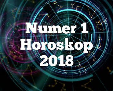 Numer 1 Horoskop 2018
