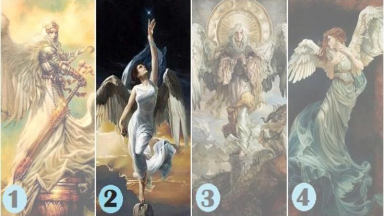 Wybierz jednego z tych aniołów i poznaj przesłanie od Twojego stróża