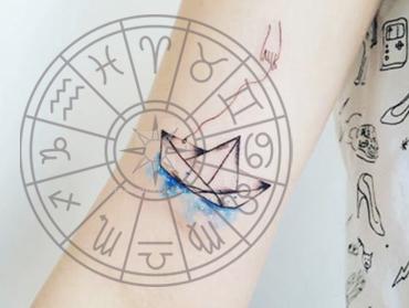 Idealny tatuaż dla każdego znaku zodiaku. Skonsultuj się z gwiazdami i wybierz swój wzór