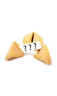 Wróżba - chińskie ciasteczko