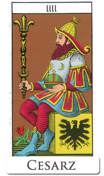 Cesarz : tarot finansowy
