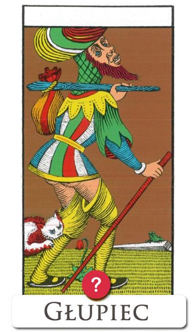 Głupiec : tarot TAK/NIE