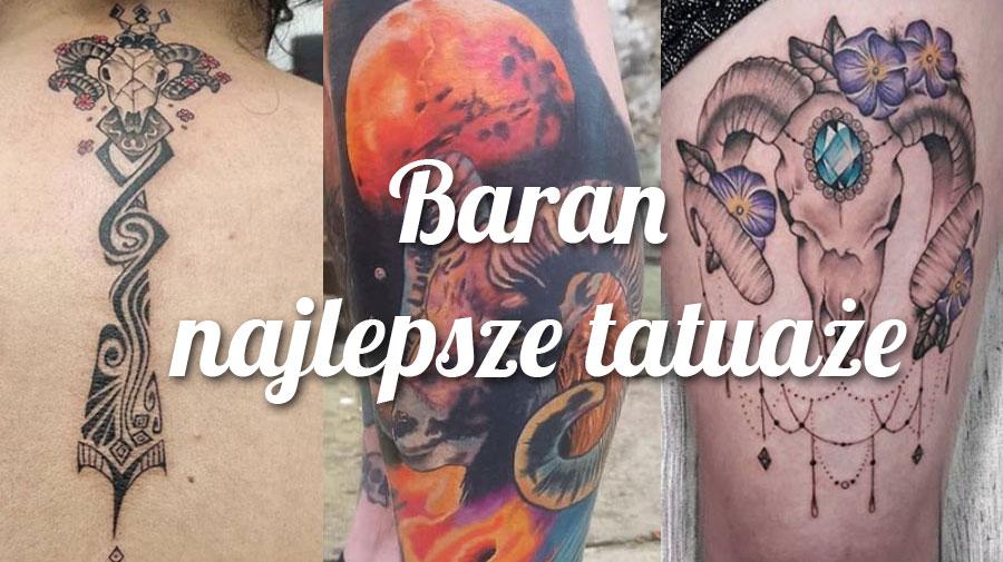 baran tatuaże