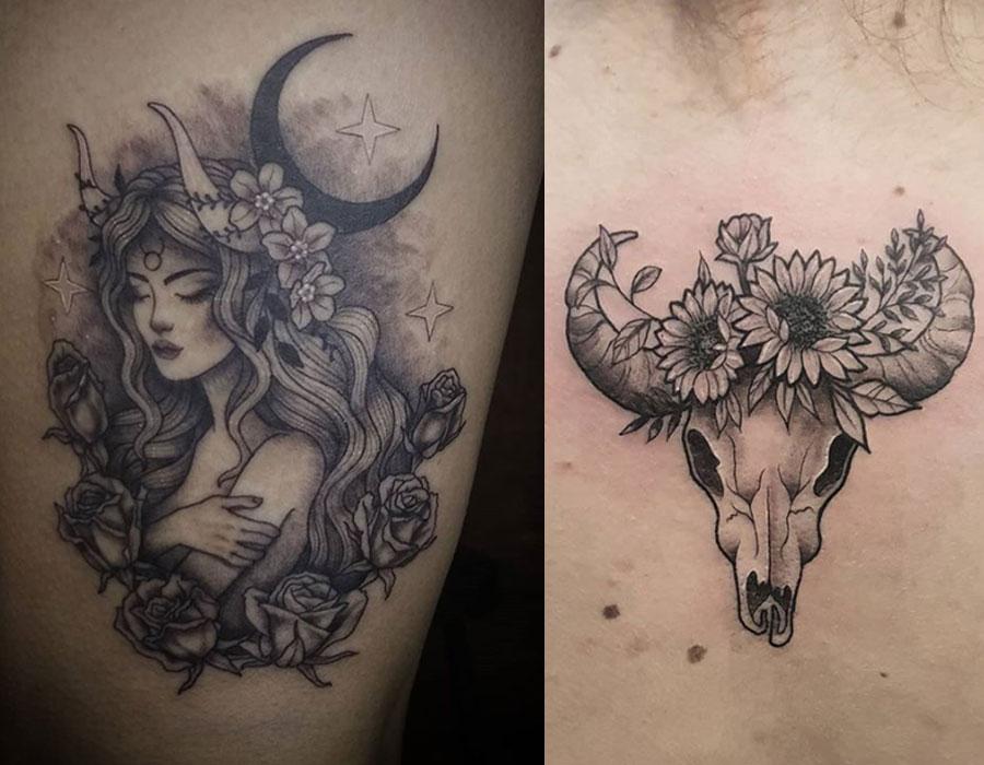 byk tatuaże