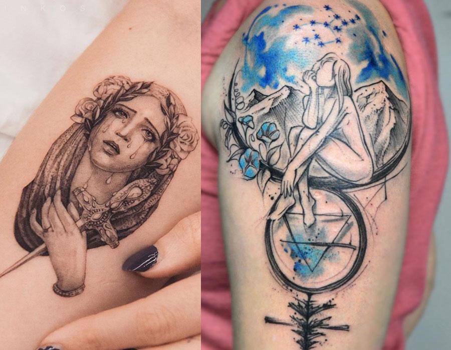 Panna - najlepsze tatuaże