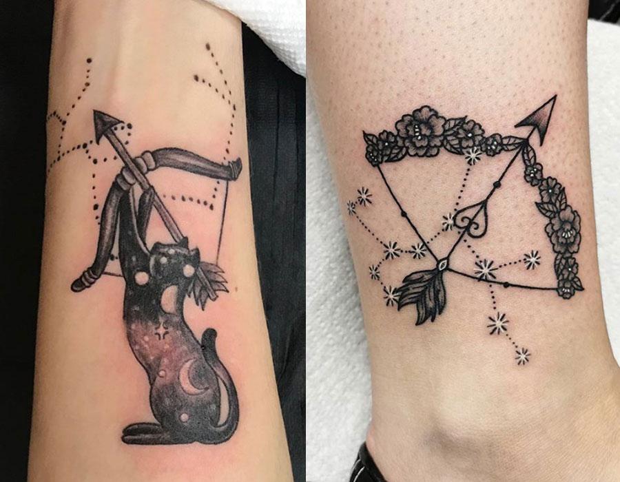 Strzelec – najlepsze tatuaże