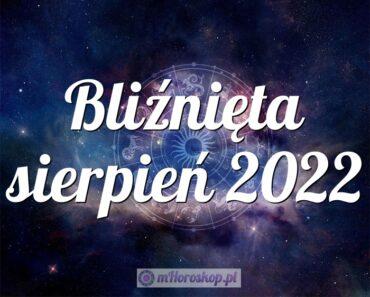 Bliźnięta sierpień 2022